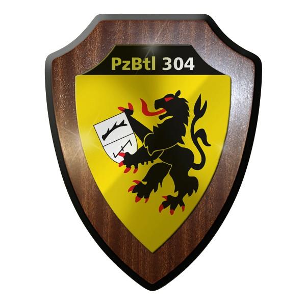 Wappenschild Panzerbataillon PzBtl 304 Leopard Kampfpanzer Panzer Bataillon#9316