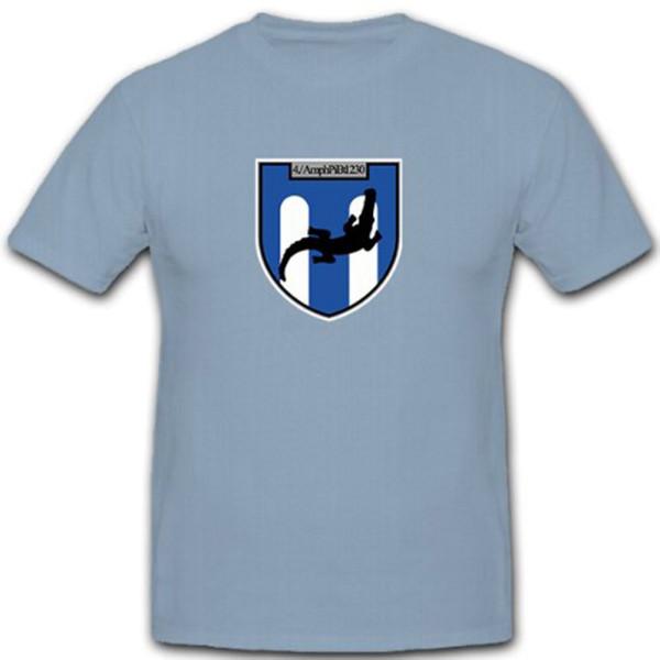 4. AmphPiBtl 230 Amphibious Pioneer Battalion Coat of Arms Badge T Shirt # 10147