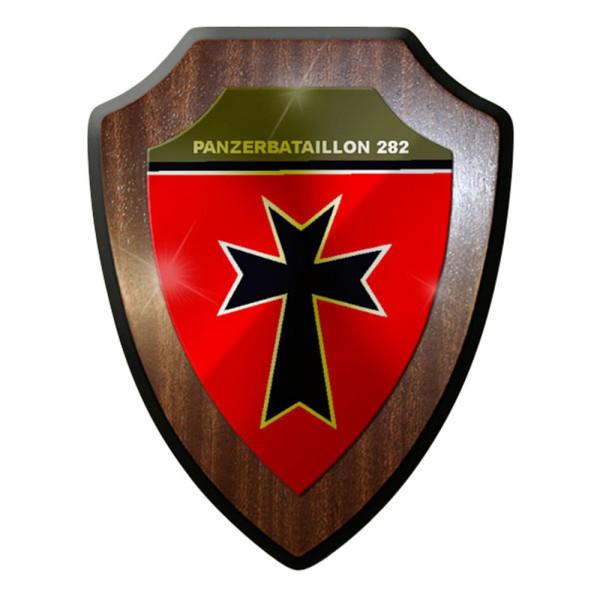 Wappenschild / Wandschild / Wappen - Panzerbataillon Panzer PzBtl 282 #8362