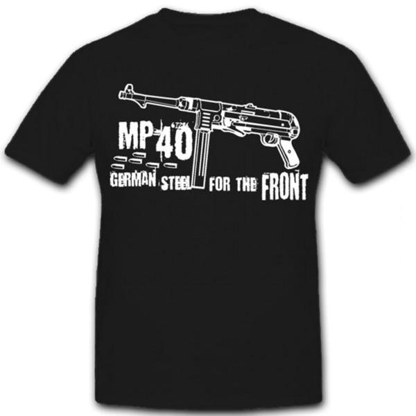MP40 German steel - T Shirt Herren #6064