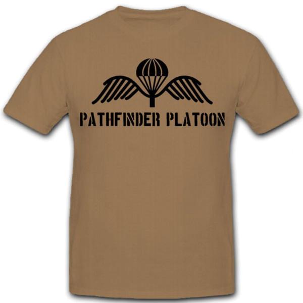 Pathfinder Platoon Royal Army Great Britain England Army - T Shirt # 11013