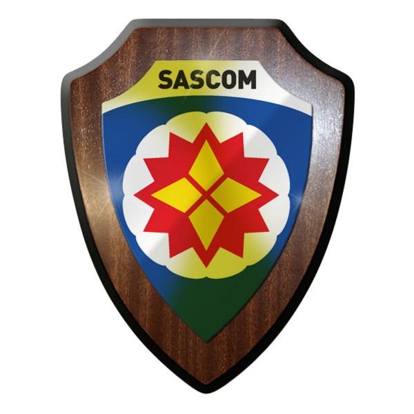Wappenschild - SASCOM Special Ammunition Support Command Militär #10045
