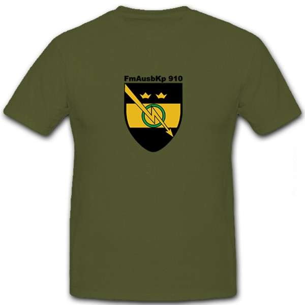 FmAusbKp910 T Shirt Einheit Truppe #6020