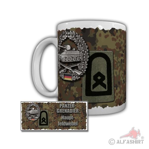 Tasse Panzergrenadier Hauptfeldwebel Panzergrenadierbataillon Bundeswehr #29860