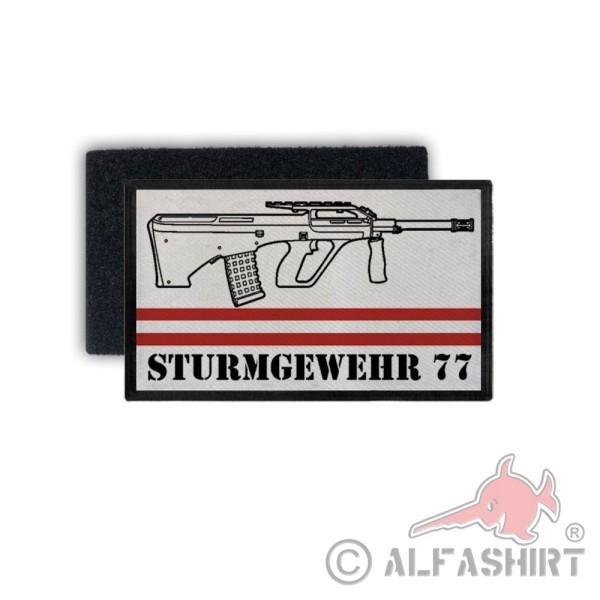 Patch assault rifle 77 StG sport shooter Austria Bundesheer 7.5 x 4.5 # 31772