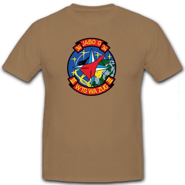 JaboG 34 Wtg Wa Zug III Bundeswehr Bw Luftwaffe Tornado NATO - T Shirt #8530