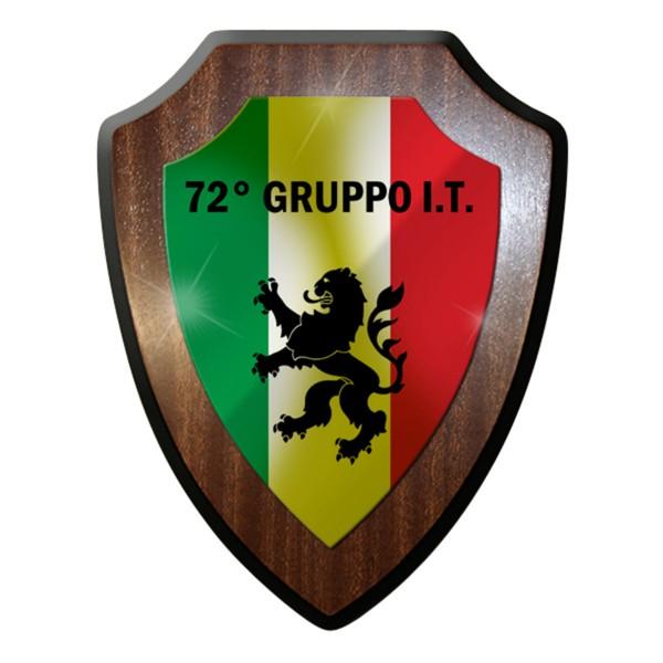 Wappenschild / Wandschild - 72° Gruppo It Wappen Italien Militär Gruppe#7695