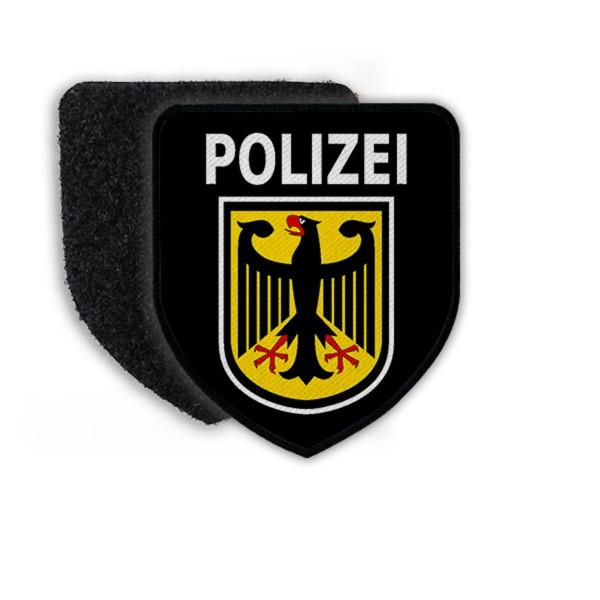 Patch Bundespolizei Abzeichen Polizei Bundesrepublik Deutschland Wappen #22273