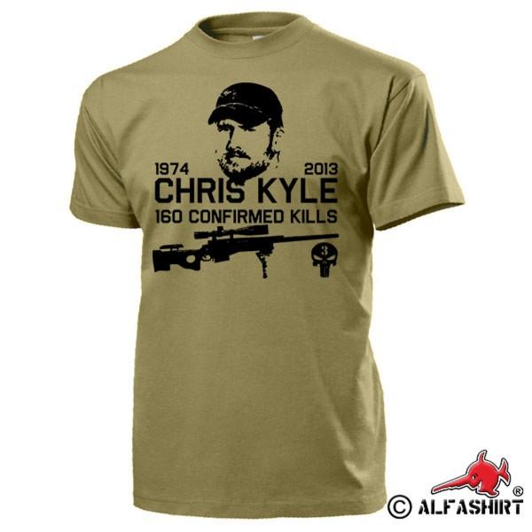American Sniper Scharfschütze Navy Seal Team 3 Seals T Shirt #15937