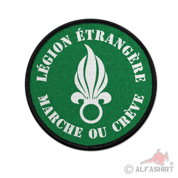 Patch MARCHE OU CREVE Foreign Legion Patch Badge # 36614