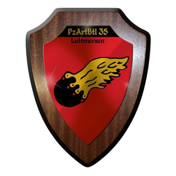 Wappenschild - Panzerartilleriebataillon 35 PzArtBtl Luttmersen Wappen #12645