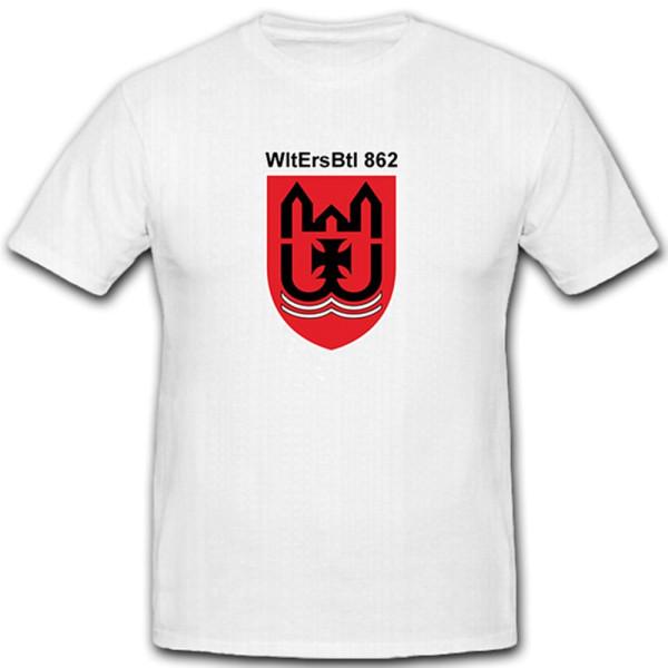 WtlErsBtl 862 Wehrleit Ersatzbataillon Wehrleiter Budeswehr BW - T Shirt #10527
