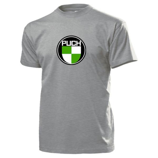 Wappen Puch-Werke Oldtimer Emblem Fan Österreich Fahrrad Motorrad T Shirt #13448