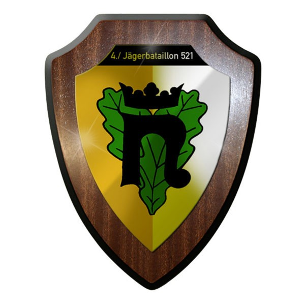 Wappenschild -4 Kp Jägerbataillon 521 Northeim Kompanie Einheit JgBtl #12772