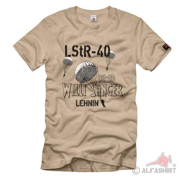 LStR-40 Willi Sänger Lehnin Luftsturmregiment NVA DDR T-Shirt#36216