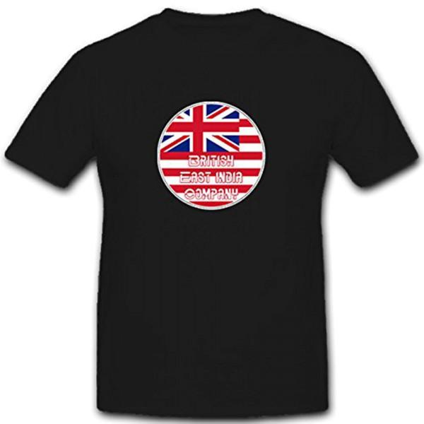 British East India Company - Rund Siegel Abzeichen Wappen Emblem T Shirt #11215