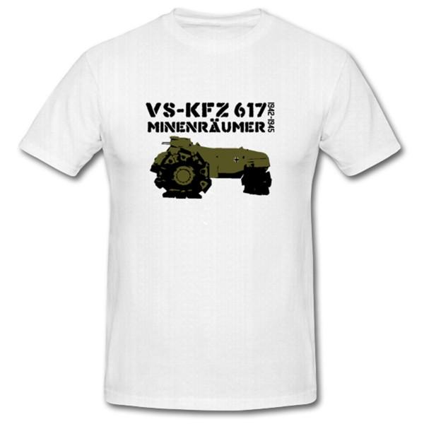 Vskfz 617 Minenräumpanzer Mine Panzermine Pioniere WH Ostfront Westfront WK - T Shirt #1071