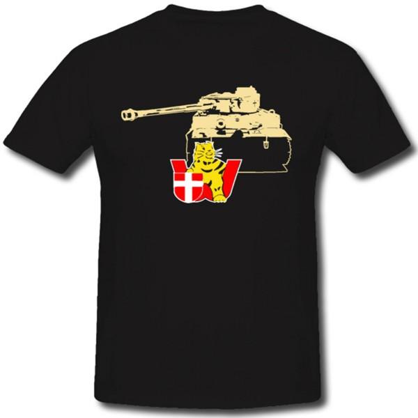 sPzAbt 506 WH Tiger Schwere Panzer Abteilung Wappen Abzeichen WK - T Shirt #1297
