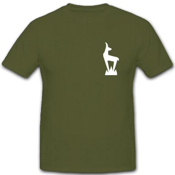 Gebirgsjäger Gams Gebirgsjäger Division Steinbpck Alpen - T Shirt #7111