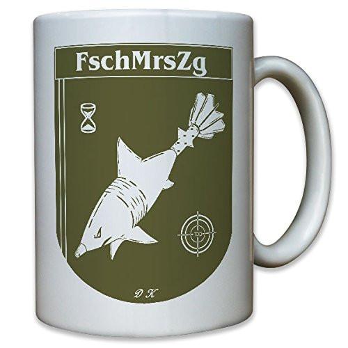 FschMrsZg Fallschirm Mörserzug Granate Hai Haifisch - Tasse #10680