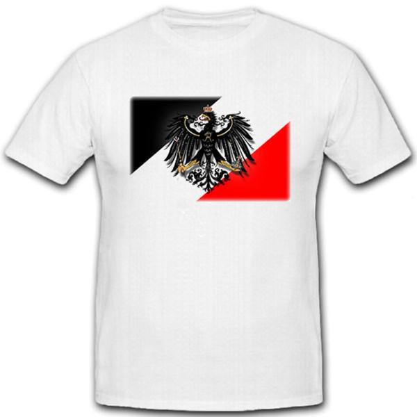 Preußen Adler schwarz weiß rot Deutschland Friedrich der Große - T Shirt #12835