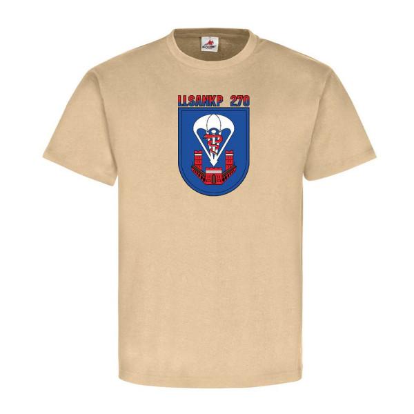 LLSanKp 270 Bundeswehr Deutschland Militär Einheit Emblem - T Shirt #11193