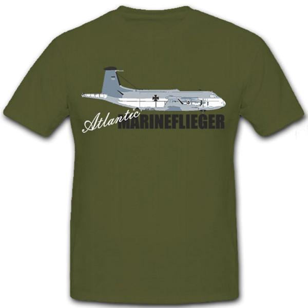Atlantic Marineflieger-Bundeswehr Flugzeug Aufklährer - T Shirt #8904