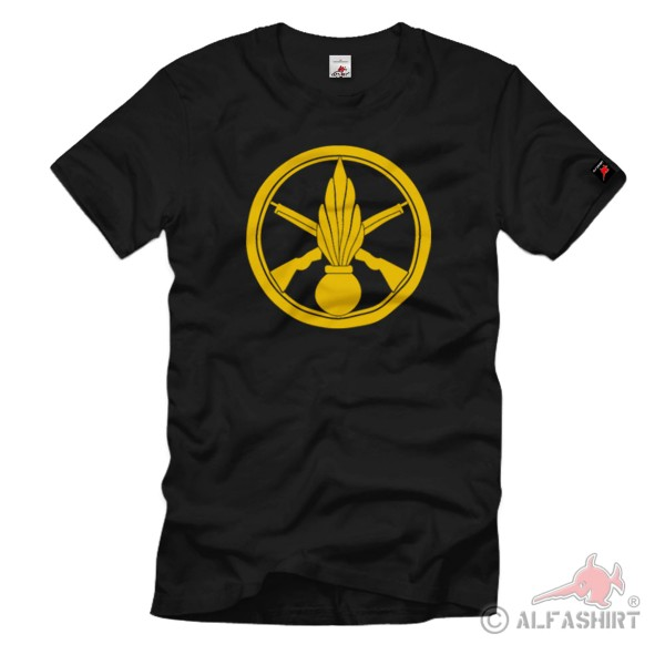 Insigne de Beret Infantry Army Terre Beret Badge Infantry T Shirt # 1119