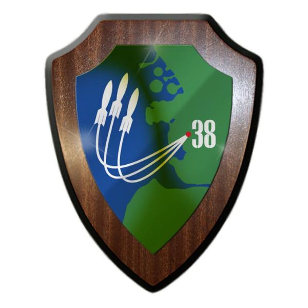 Wappenschild - Flugabwehrraketenbataillon 38 FlAbwRakBtl 38 Militär #9248