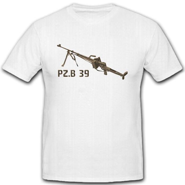 PzB 39 Panzerbüchse Weapon Rifle Armor Breathing Munition Mun - T Shirt # 10682