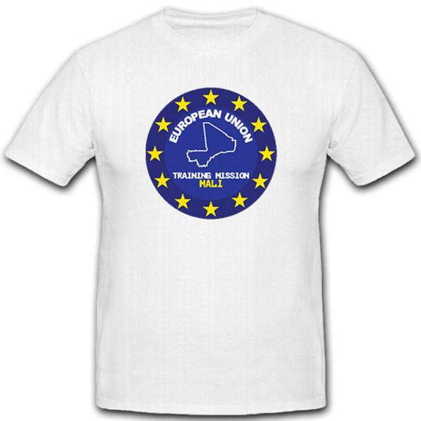 European Union Mali Training Mission Bundeswehr EU - T Shirt #8197