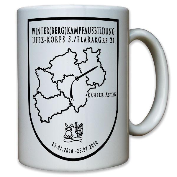 Winterkampfausbildung Kahler Asten FlaRakGrp 21 Flugabwehr - Tasse #11782