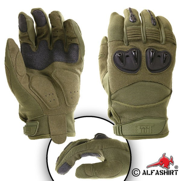 Tactical Gloves Special Forces Ranger Protectors Hunting Outdoor - Olive # 17383