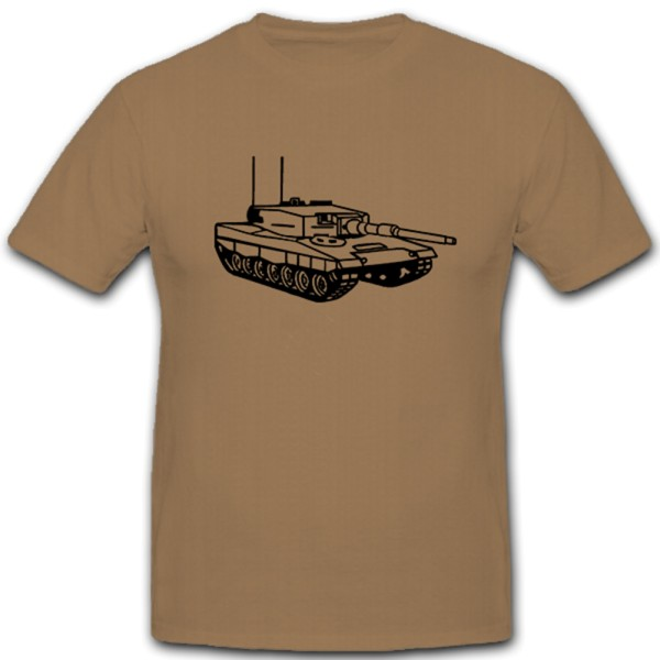 BW-Panzer Bundeswehr Panzer Leo Leopard Kampfpanzer Militär - T Shirt #5363