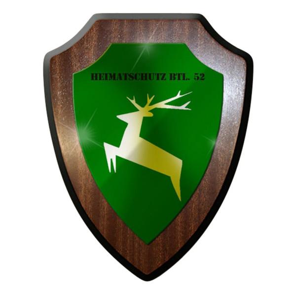 Wappenschild / Wandschild / Wappen - Heimatschutz Bataillon #7050
