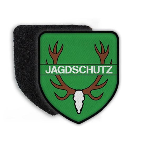 Patch Jagdschutz Förster Jäger Revier Aufnäher Wappen Abzeichen Wald Jagd #21489