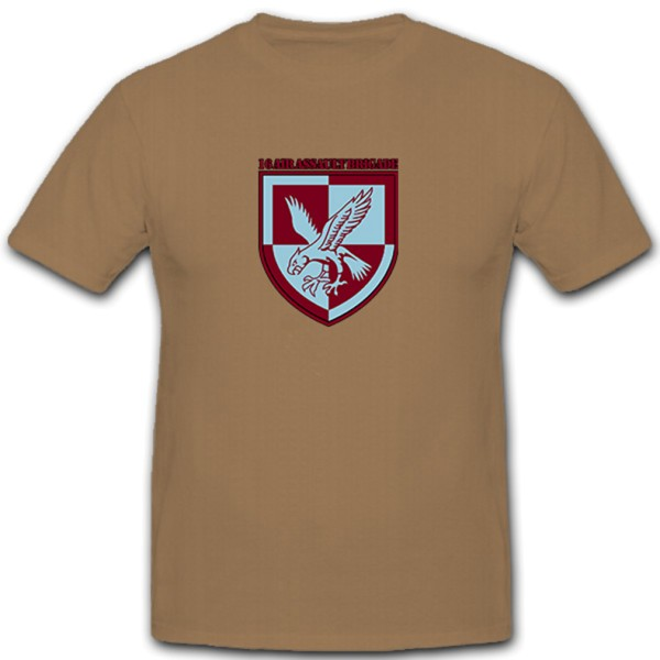 16AAB Air Assault Brigade England Crest Badge - T Shirt # 11160