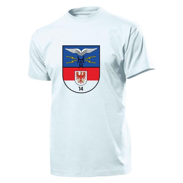 Fernmelderegiment 14 - FmReg 14 fmabt 14 NVA DDR Ost-Deutschland- T Shirt #10991