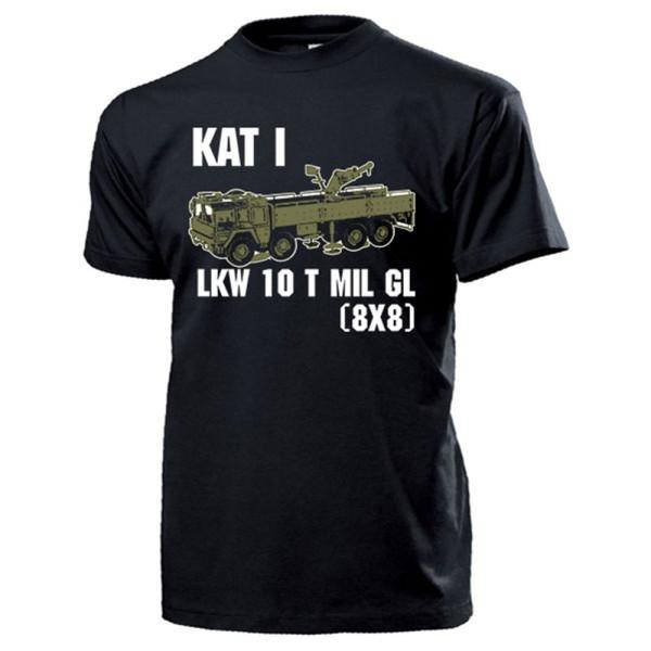 LKW 10 t mil gl KAT I 8x8 Kran Bundeswehr 10 Tonner Oldtimer - T Shirt #14700