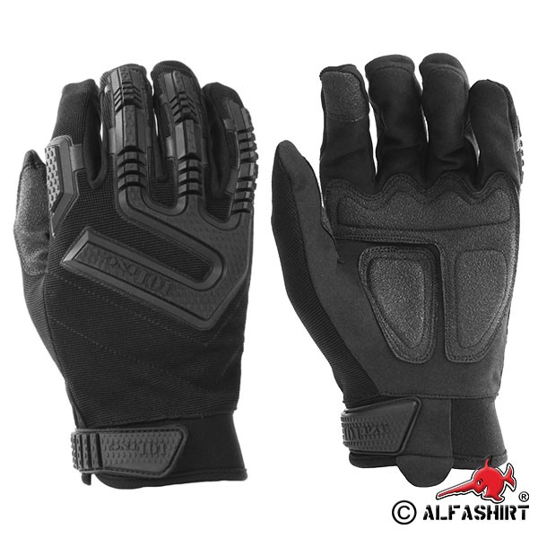 Tactical Insert Gloves Command Black Airsoft Outdoor Survival # 16072