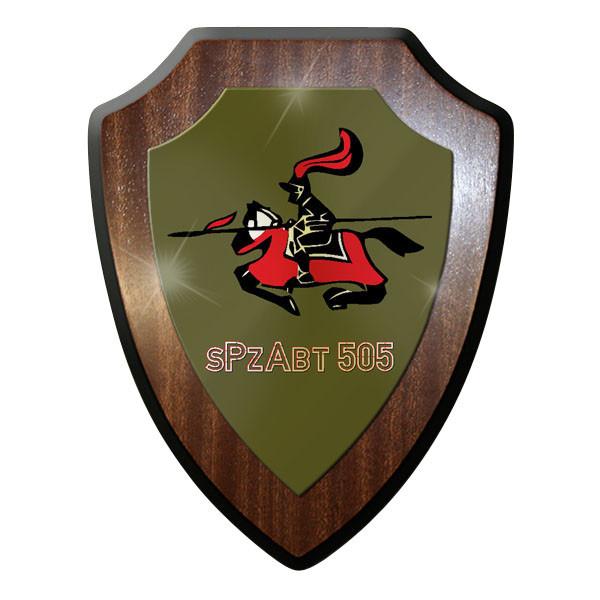Wappenschild / Wandschild / Wappen - sPzAbt 505 schwere Panzer Abteilung #11632