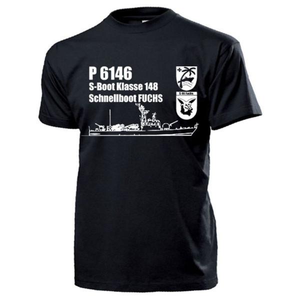 Schnellboot S46 Fuchs P6146 S-Boot Klasse 148 Schiff Bundeswehr - T Shirt #17876