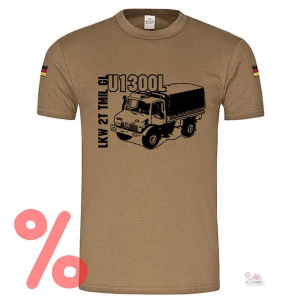 Gr. L - SALE Shirt U1300L LKW MOG Militärfahrzeug Oldtimer Bund Fan #R452