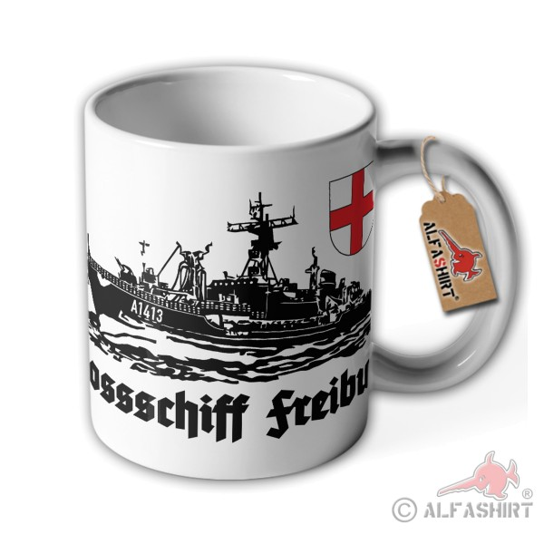 Cup supply ship Freiburg F1413 ship Lüneburg class crew # 36230