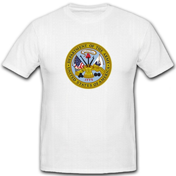 Seal of the US Department of the Army - Patch Badge Insignia - T Shirt #11149