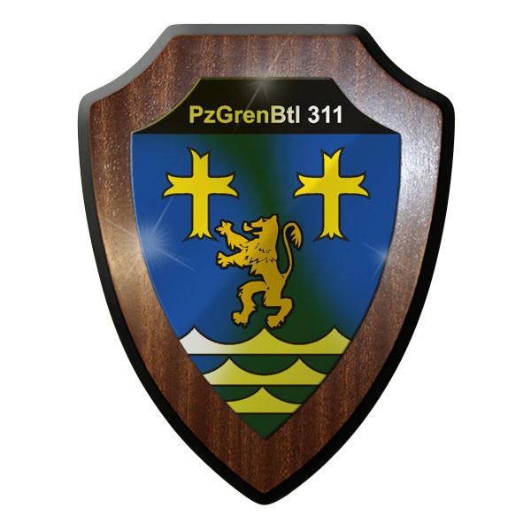 Wappenschild - PzGrenBtl 311 Panzer Grenadier Bataillon Grenadiere Bw #9356