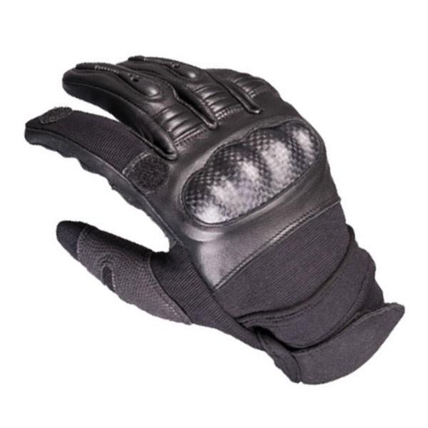 SEK Handschuhe Einsatzkommando Tactical Karbon Schutz Airsoft Biker Sportschütze