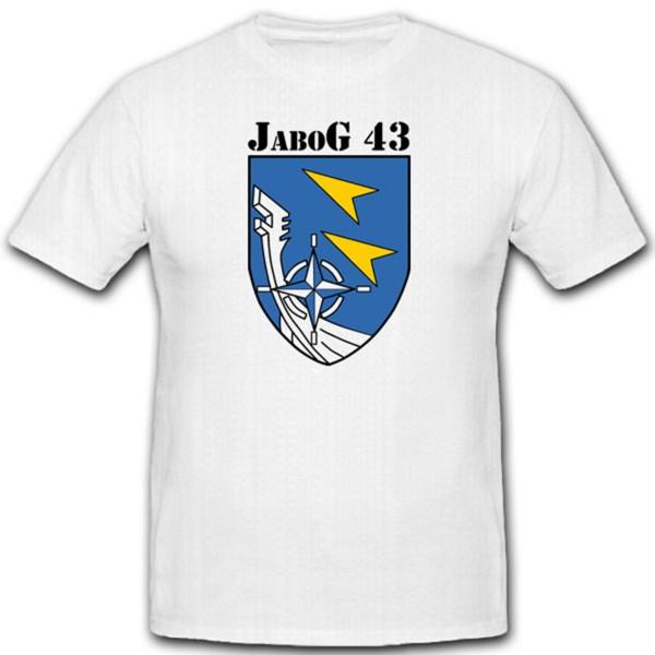 Jabog 43 Bundeswehr Luftwaffe Luftwaffe Jagdbombergeschwader T Shirt #2287