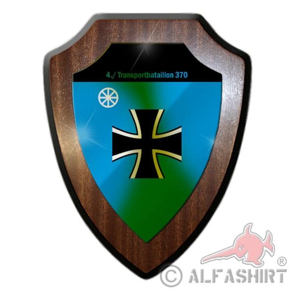 Wappenschild- 4. Transportbataillon 370 Transport Bataillon - #11719