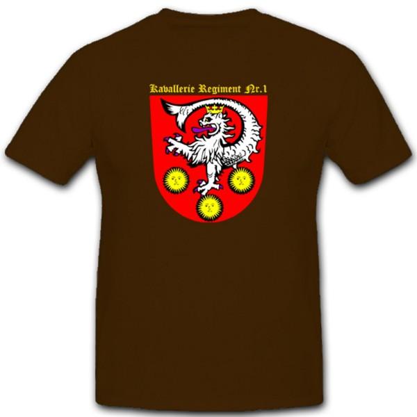 Kavallerie Regiment 1 1. Preußisches Reiter Regiment Insterburg - T Shirt #1582